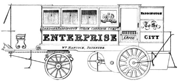 由於蒸汽汽车的生意很好